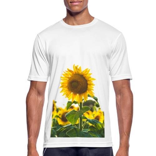 zonnebloem - Mannen T-shirt ademend actief