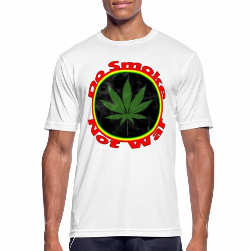 Do Smoke Not War - Männer T-Shirt atmungsaktiv