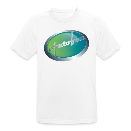 Autofan groen - Mannen T-shirt ademend actief