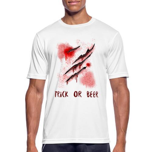 Trick or Beer - Männer T-Shirt atmungsaktiv
