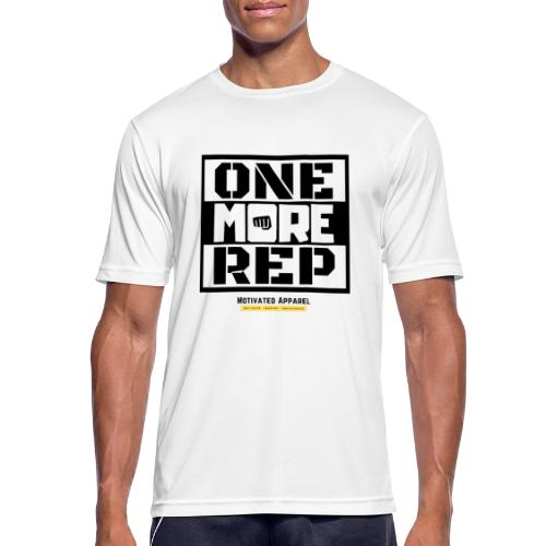 One More Rep - Men's Breathable T-Shirt