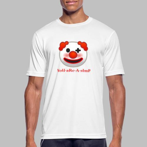 Clown Emoji - Mannen T-shirt ademend actief