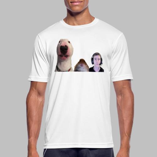 3 Amigos Walter, Hamster and Ltt. - Mannen T-shirt ademend actief