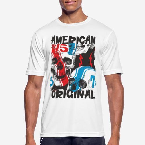 usa american original - Männer T-Shirt atmungsaktiv