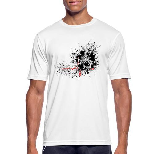 Trash polka ECG - T-shirt respirant Homme