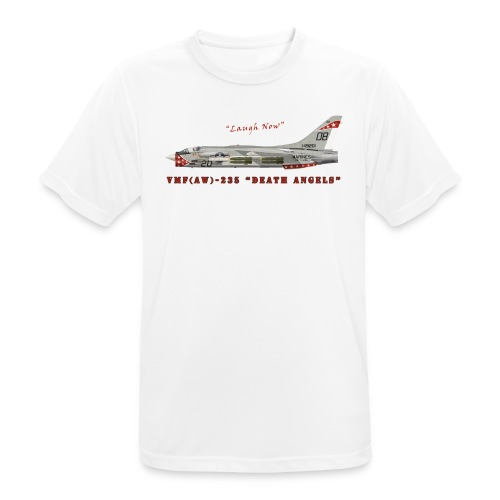 F-8 Crusader VMF-235 Death Angels - Men's Breathable T-Shirt