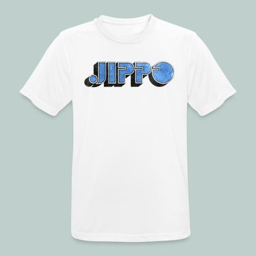 JIPPO LOGO (blue) - miesten tekninen t-paita