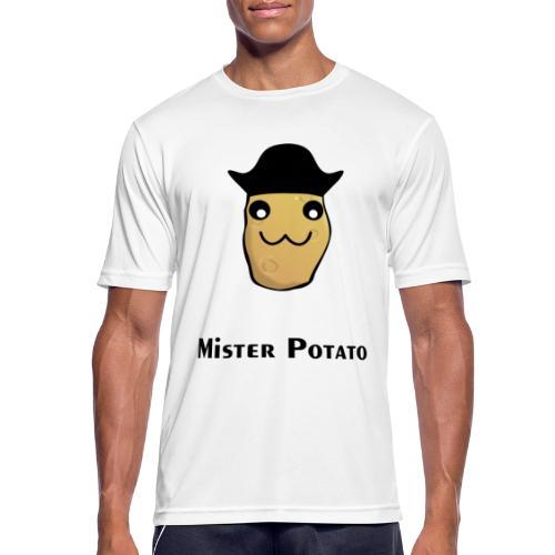 Mister Potato - Männer T-Shirt atmungsaktiv