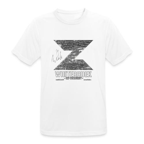 ZK COMMUNITY LOGO VER.01 - BLACK SIGNED - Männer T-Shirt atmungsaktiv