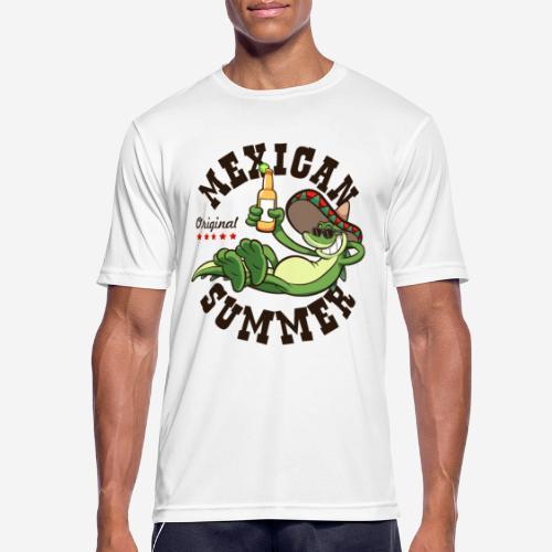 mexikanischer Sommer Mexiko - Männer T-Shirt atmungsaktiv