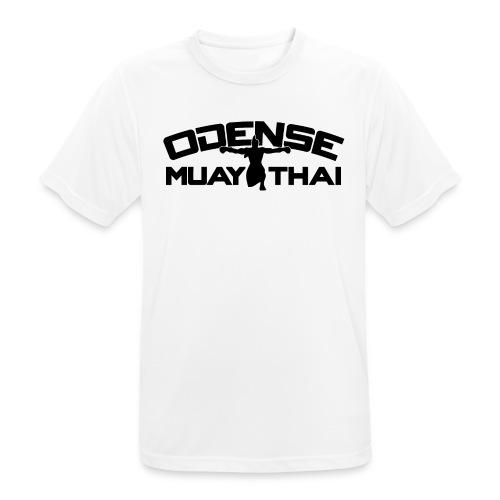 OMT LOGO2012 SORT 08 08 2 2 - Herre T-shirt svedtransporterende