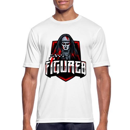 Figure 8 Official - Mannen T-shirt ademend actief