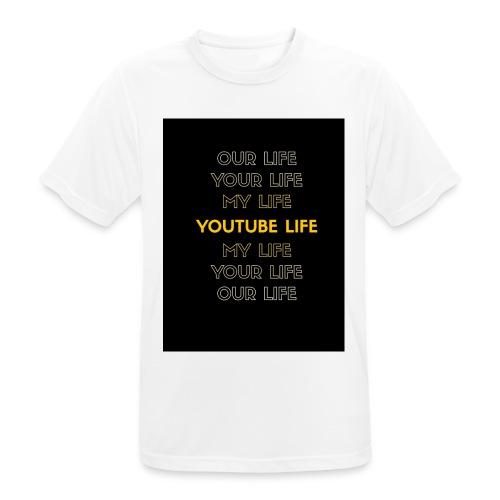 Youtube live - Männer T-Shirt atmungsaktiv