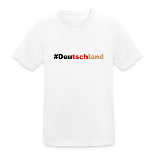 #Deutschland - Männer T-Shirt atmungsaktiv