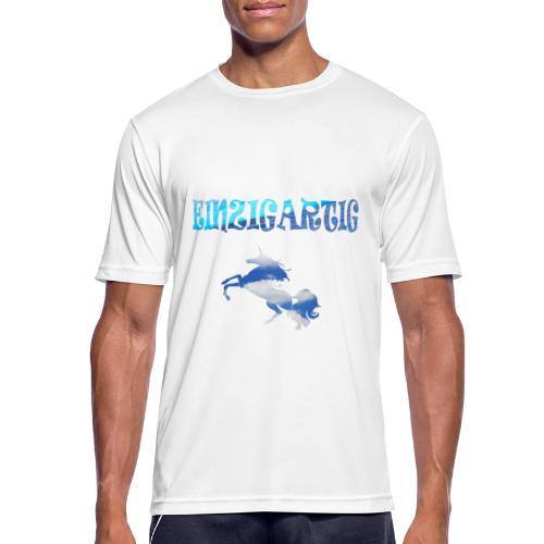 Einzigartig - Männer T-Shirt atmungsaktiv