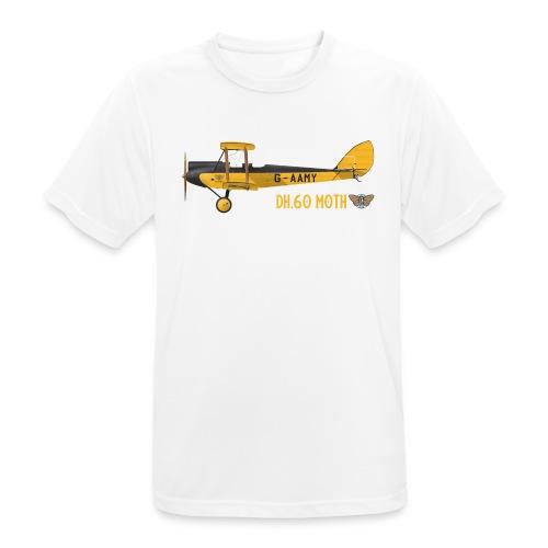 DH60 Moth - Men's Breathable T-Shirt