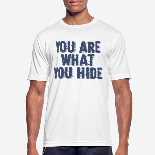 hide identity incognito - Männer T-Shirt atmungsaktiv