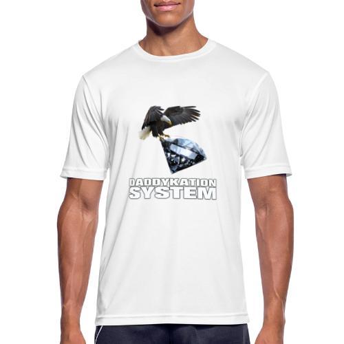 DADDYKATION SYSTEM // LOGO - Männer T-Shirt atmungsaktiv