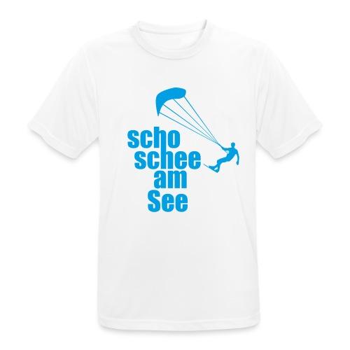 scho schee am See Surfer 01 kite surfer - Männer T-Shirt atmungsaktiv