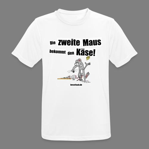 Die zweite Maus - Männer T-Shirt atmungsaktiv