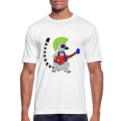 Katta-Punk - Männer T-Shirt atmungsaktiv