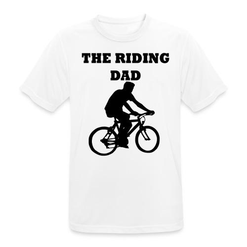 The riding dad T-Shirt - Männer T-Shirt atmungsaktiv