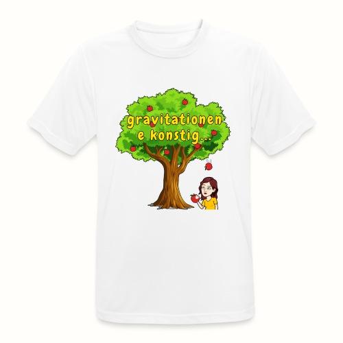 gravitationen e konstig - Andningsaktiv T-shirt herr
