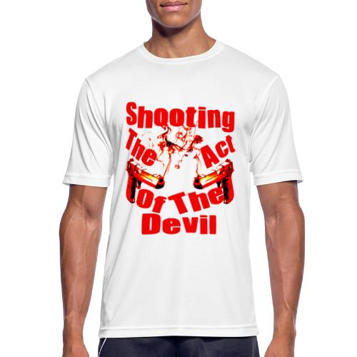 Shooting The Act Of Devil - T-shirt respirant Homme
