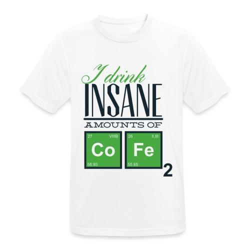 Breaking Coffee Shirt - Männer T-Shirt atmungsaktiv