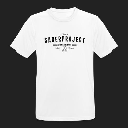 Vintage Lightsaber Action - Männer T-Shirt atmungsaktiv