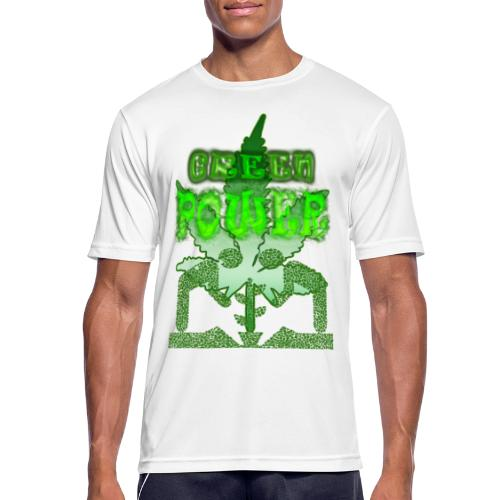 Green Power - T-shirt respirant Homme