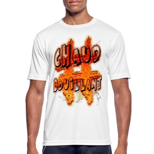 H-Tag Chaud Bouillant - T-shirt respirant Homme