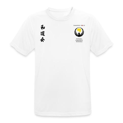 KKSD 3sides white - Andningsaktiv T-shirt herr