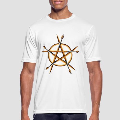 PAGAN PAINTER - Men's Breathable T-Shirt