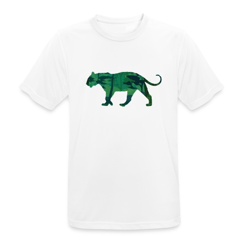 Tiger in the jungle... - T-shirt respirant Homme