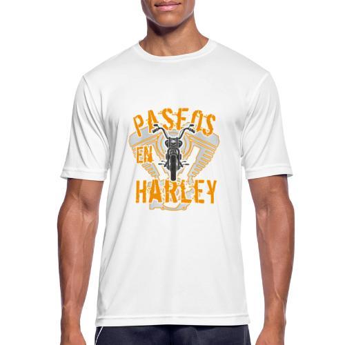 Paseos en H a r l e y - Camiseta hombre transpirable