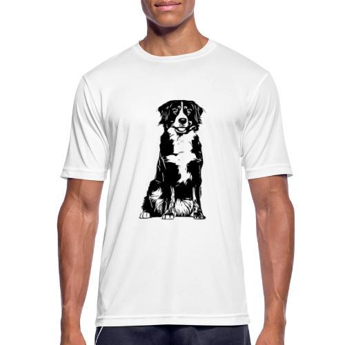Berner Sennenhund Hunde Design Geschenkidee - Männer T-Shirt atmungsaktiv