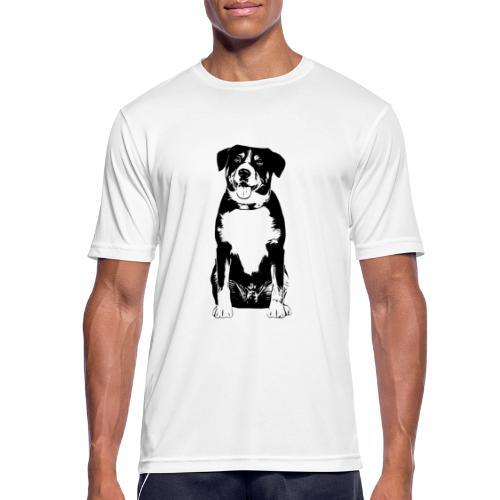 Entlebucher Sennenhund Hunde Design Geschenkidee - Männer T-Shirt atmungsaktiv