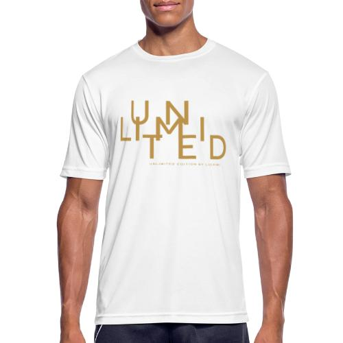 Unlimited gold - Men's Breathable T-Shirt