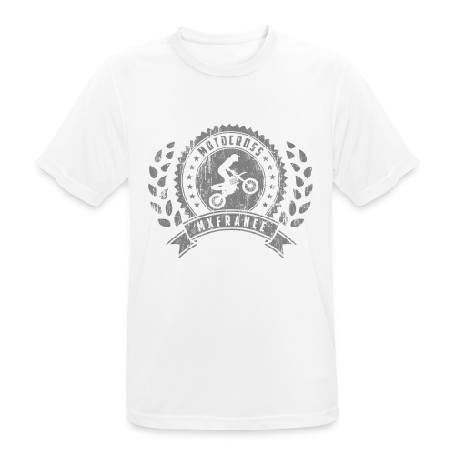 Motocross Retro Champion - T-shirt respirant Homme