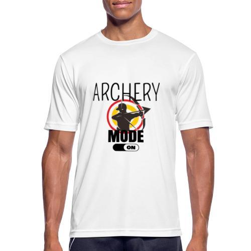 ARCHERY: MODE ON - Maglietta da uomo traspirante