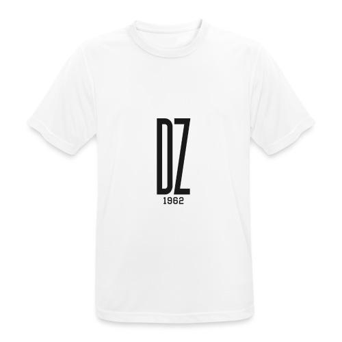 Logo transparent noir DZ 1962 - T-shirt respirant Homme