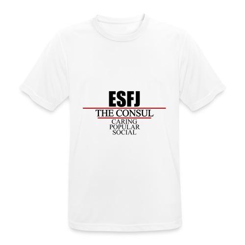 ESFJ - Andningsaktiv T-shirt herr