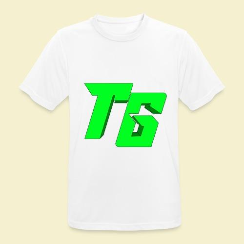 TristanGames logo merchandise [GROOT LOGO] - Mannen T-shirt ademend actief