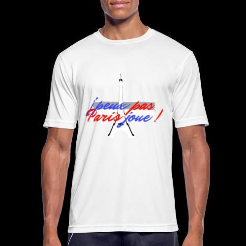 j'peux pas Paris joue - T-shirt respirant Homme
