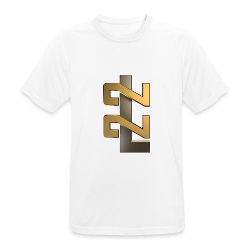L22 Classic Logo - Andningsaktiv T-shirt herr