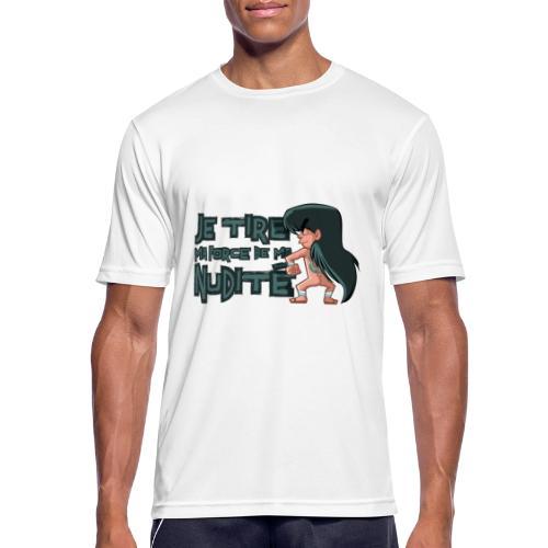 Shiryû - Nudité - T-shirt respirant Homme