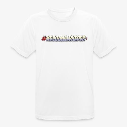 #Kevinmalwieder Logo NEU ! - Männer T-Shirt atmungsaktiv