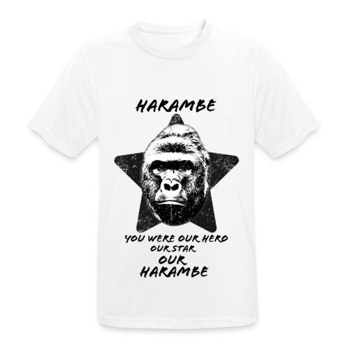 Harambe - Herre T-shirt svedtransporterende