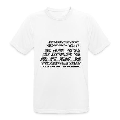 CM Logo aus Text schwarz - Männer T-Shirt atmungsaktiv
